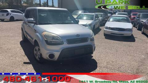 2013 Kia Soul for sale at UPARK WE SELL AZ in Mesa AZ