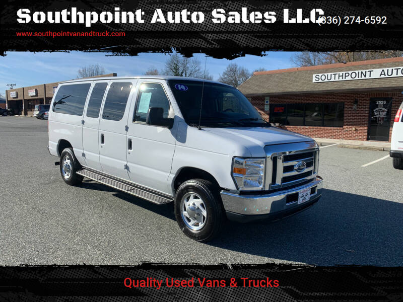 2014 Ford E-Series Wagon for sale at Southpoint Auto Sales LLC in Greensboro NC
