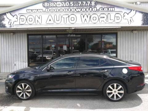 2013 Kia Optima for sale at Don Auto World in Houston TX