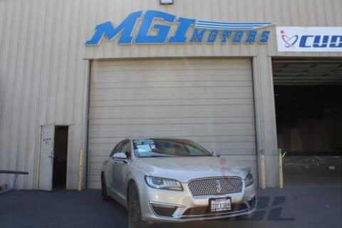 2017 Lincoln MKZ Hybrid for sale at MGI Motors in Sacramento CA