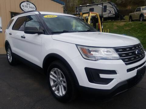 2016 Ford Explorer for sale at W V Auto & Powersports Sales in Cross Lanes WV