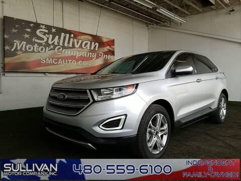 2017 Ford Edge for sale at SULLIVAN MOTOR COMPANY INC. in Mesa AZ