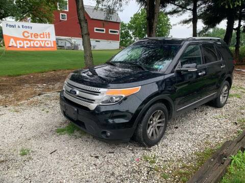 2015 Ford Explorer for sale at Caulfields Family Auto Sales in Bath PA