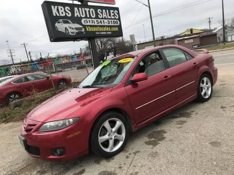 2007 Mazda MAZDA6 for sale at KBS Auto Sales in Cincinnati OH