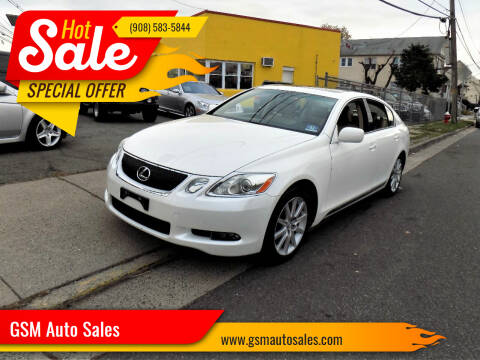2006 Lexus GS 300 for sale at GSM Auto Sales in Linden NJ