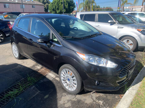 2014 Ford Fiesta for sale at Westcoast Auto Wholesale in Los Angeles CA