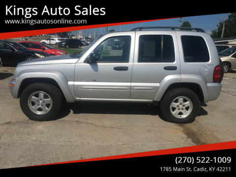 2002 Jeep Liberty for sale at Kings Auto Sales in Cadiz KY