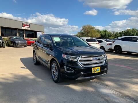 2015 Ford Edge for sale at KIAN MOTORS INC in Plano TX