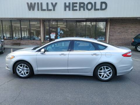 2014 Ford Fusion for sale at Willy Herold Automotive in Columbus GA