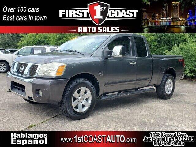 2004 Nissan Titan for sale at 1st Coast Auto -Cassat Avenue in Jacksonville FL