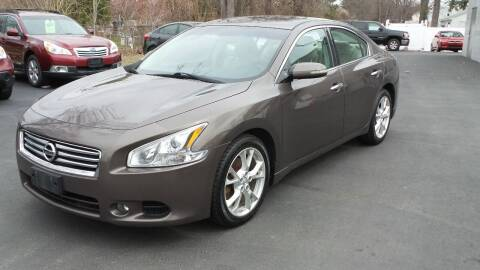 2014 Nissan Maxima for sale at JBR Auto Sales in Albany NY