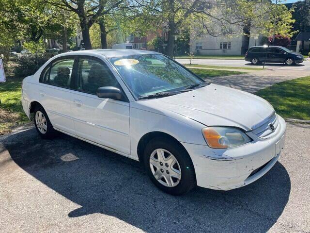 2003 Honda Civic for sale at L & L Auto Sales in Chicago IL