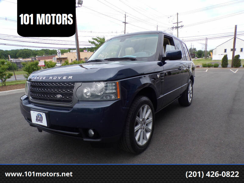 2011 Land Rover Range Rover for sale at 101 MOTORS in Hasbrouck Height NJ