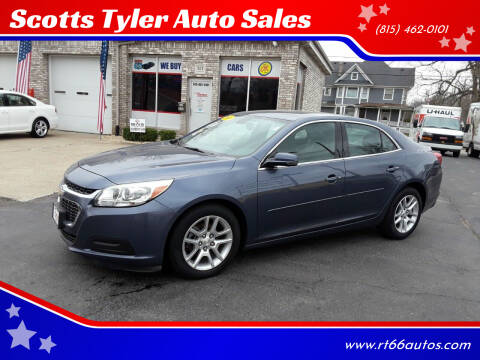 2014 Chevrolet Malibu for sale at Scotts Tyler Auto Sales in Wilmington IL