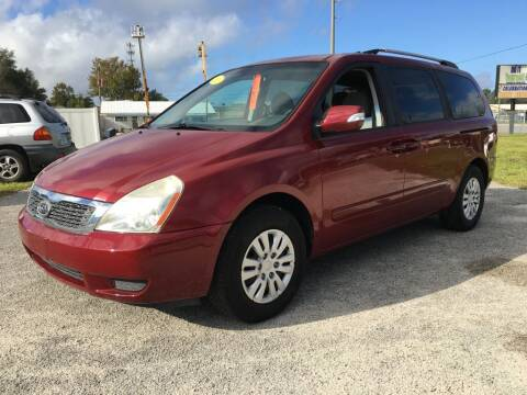 2011 Kia Sedona for sale at First Coast Auto Connection in Orange Park FL
