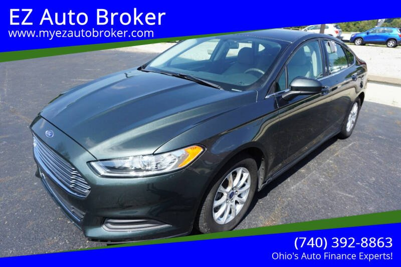 2015 Ford Fusion for sale at EZ Auto Broker in Mount Vernon OH