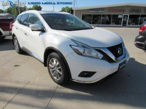 2015 Nissan Murano for sale at TWIN RIVERS CHRYSLER JEEP DODGE RAM in Beatrice NE