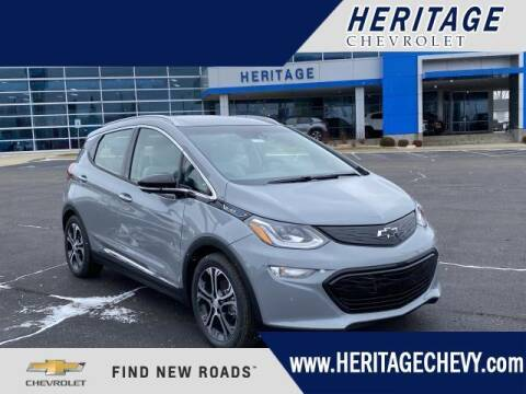 2021 Chevrolet Bolt EV for sale at HERITAGE CHEVROLET INC in Creek MI