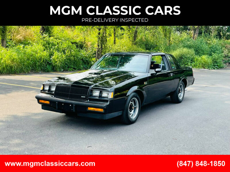 1987 Buick Regal for sale at MGM CLASSIC CARS-New Arrivals in Addison IL