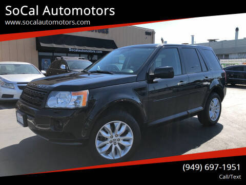 2011 Land Rover LR2 for sale at SoCal Automotors in Costa Mesa CA