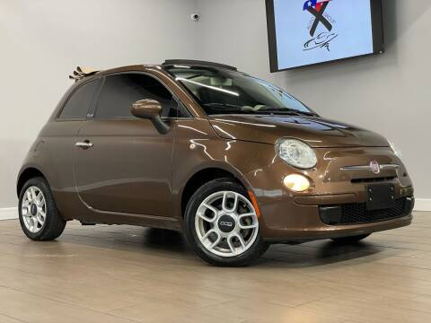 2012 FIAT 500c for sale at TX Auto Group in Houston TX