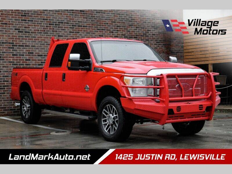 2016 Ford F-250 Super Duty for sale at Village Motors in Lewisville TX