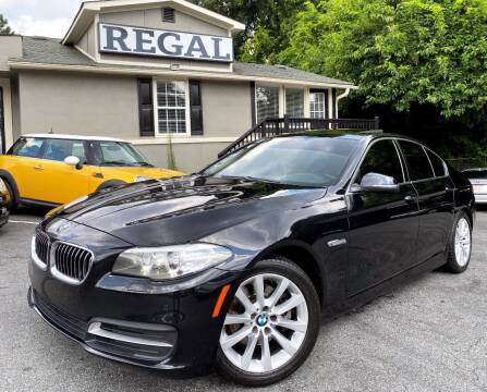 2014 BMW 5 Series for sale at Regal Auto Sales in Marietta GA