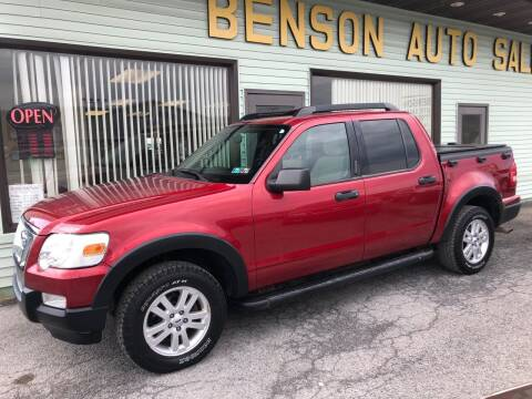 2008 Ford Explorer Sport Trac for sale at Superior Auto Sales in Duncansville PA