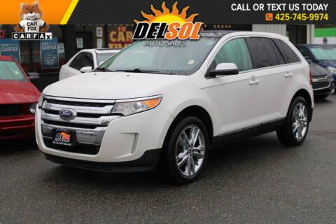2011 Ford Edge for sale at Del Sol Auto Sales in Everett WA