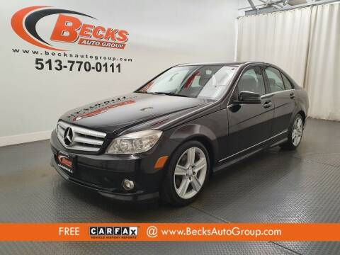 2010 Mercedes-Benz C-Class for sale at Becks Auto Group in Mason OH
