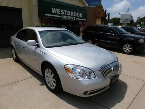 2010 Buick Lucerne for sale at Westbrook Motors in Grand Rapids MI