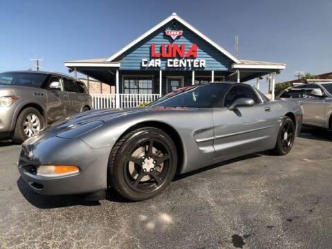 2003 Chevrolet Corvette for sale at LUNA CAR CENTER in San Antonio TX