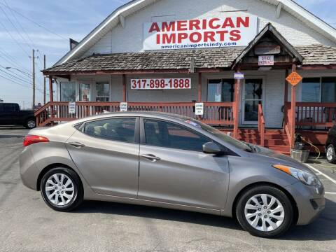 2011 Hyundai Elantra for sale at American Imports INC in Indianapolis IN