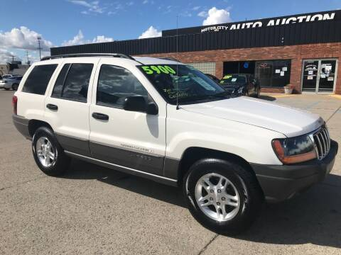 2002 Jeep Grand Cherokee for sale at Motor City Auto Auction in Fraser MI