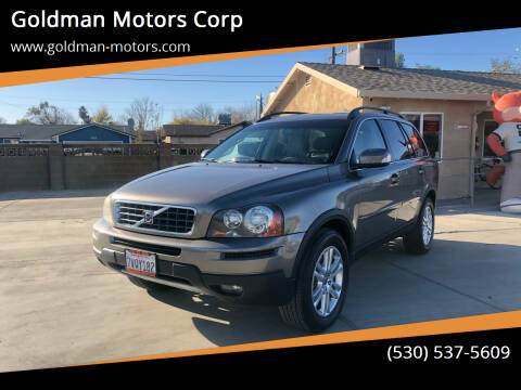 2010 Volvo XC90 for sale at Goldman Motors Corp in Stockton CA