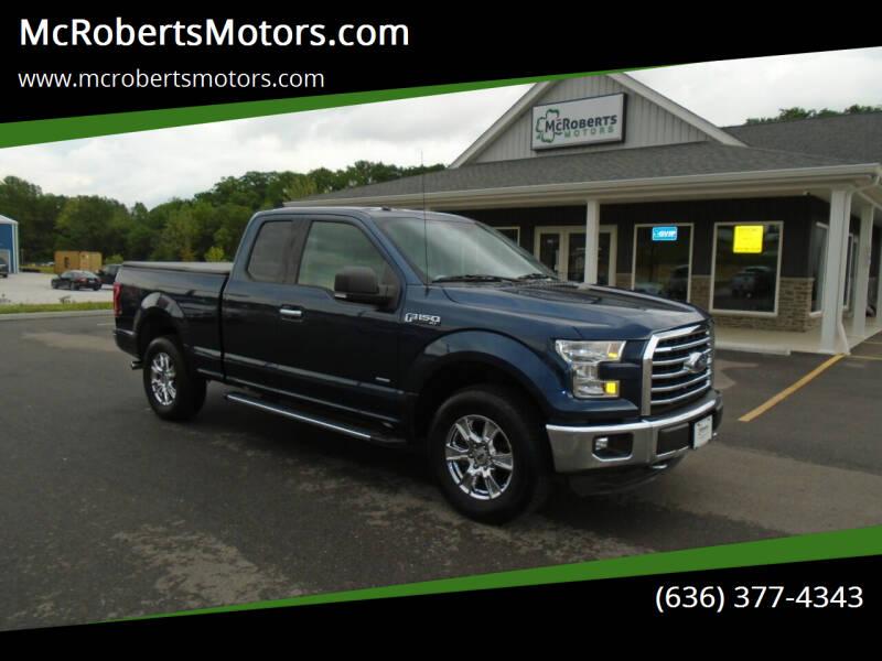 2016 Ford F-150 for sale at McRobertsMotors.com in Warrenton MO
