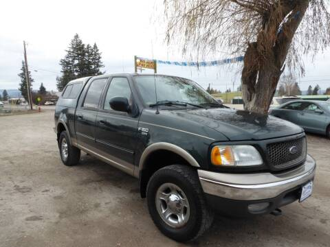 2003 Ford F-150 for sale at VALLEY MOTORS in Kalispell MT