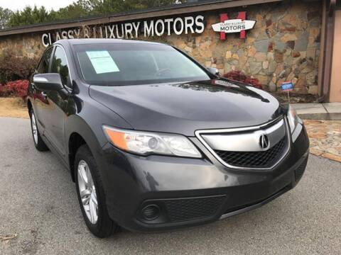 2013 Acura RDX for sale at Classy And Luxury Motors in Marietta GA