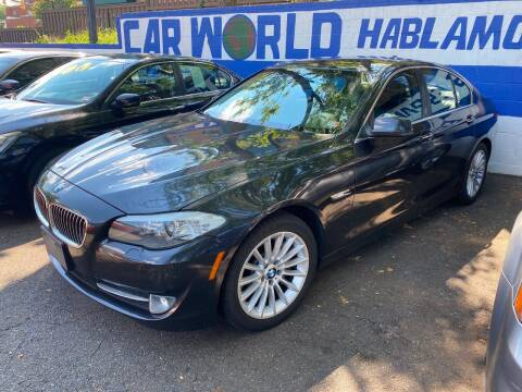 2012 BMW 5 Series for sale at Car World Inc in Arlington VA