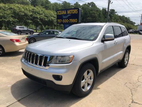 2011 Jeep Grand Cherokee for sale at Oceana Motors in Virginia Beach VA