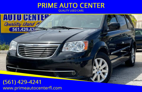 2015 Chrysler Town and Country for sale at PRIME AUTO CENTER in Palm Springs FL