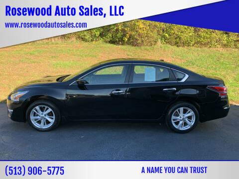 2015 Nissan Altima for sale at Rosewood Auto Sales, LLC in Hamilton OH