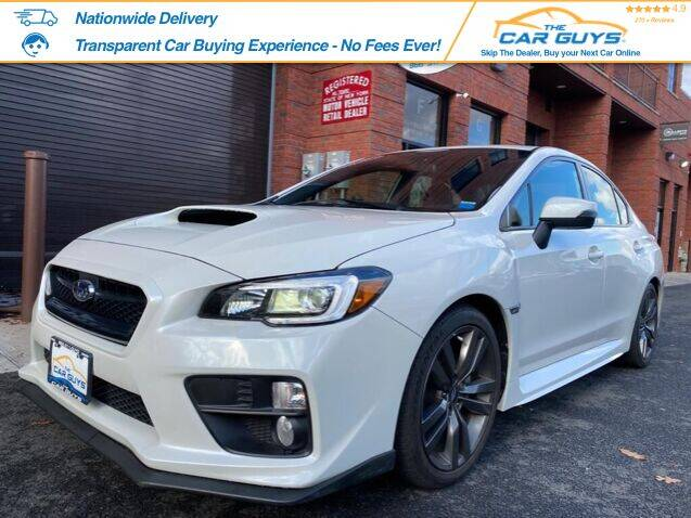2016 Subaru WRX for sale at The Car Guys in Staten Island	 NY