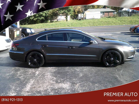 2013 Volkswagen CC for sale at Premier Auto in Independence MO