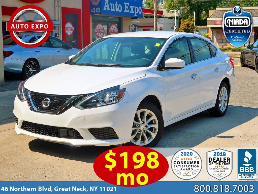used 2019 Nissan Sentra car, priced at $13,695