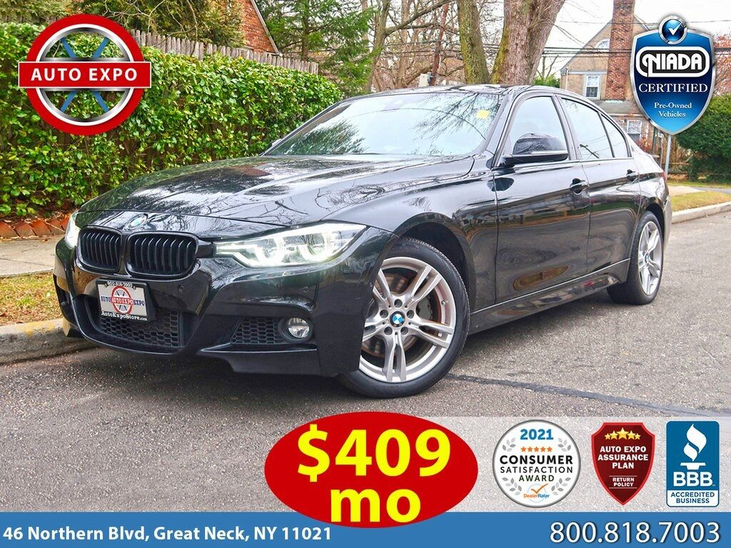 used 2018 BMW 3-Series car, priced at $34,995