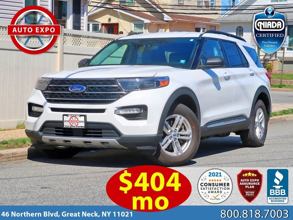 used 2020 Ford Explorer car, priced at $34,495