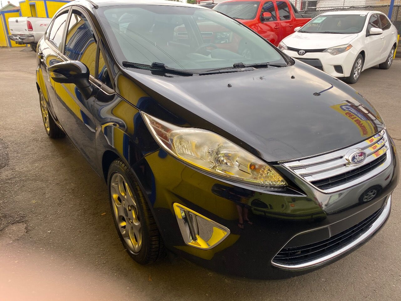 used 2012 Ford Fiesta car, priced at $10,488