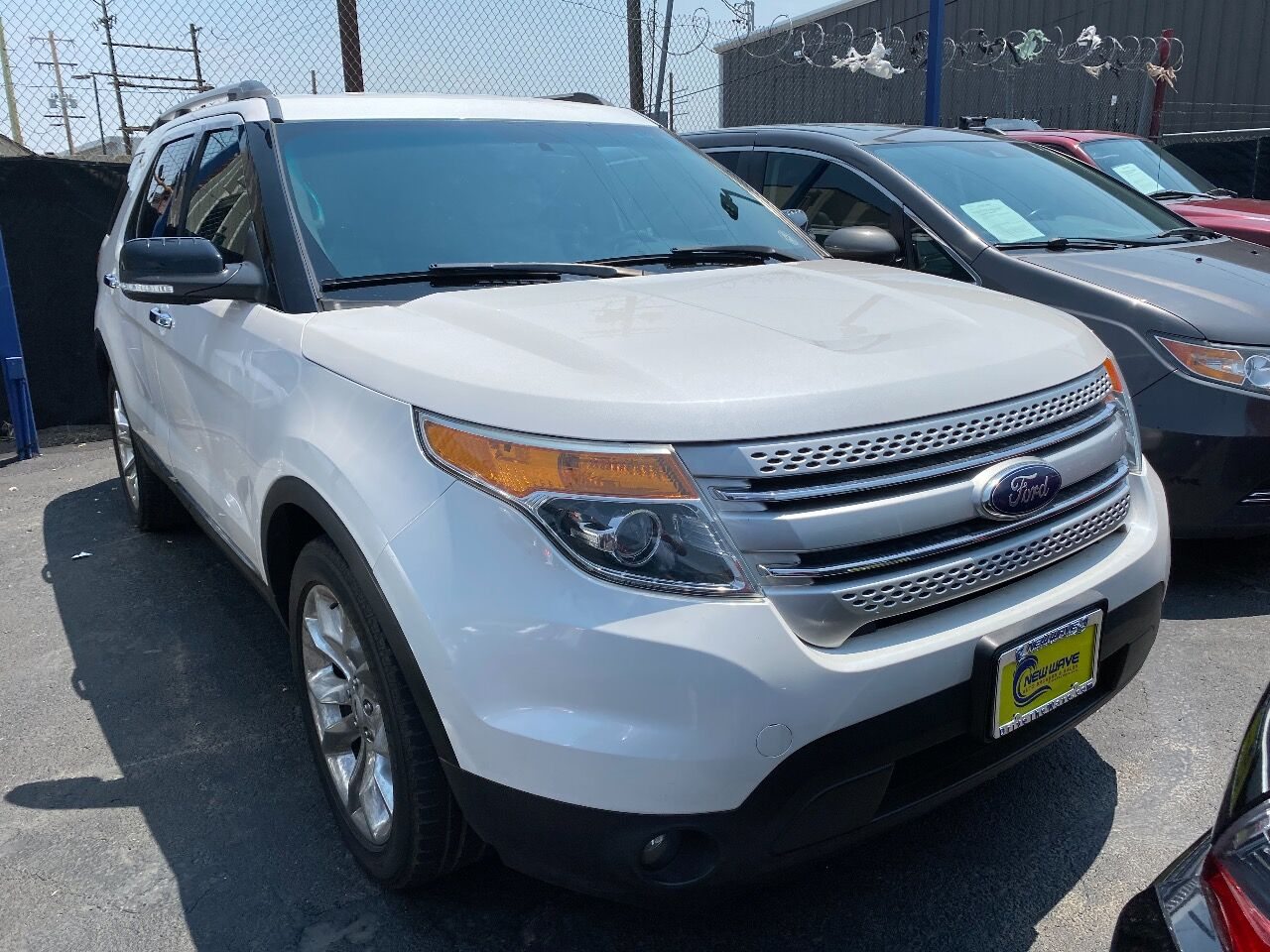 used 2015 Ford Explorer car