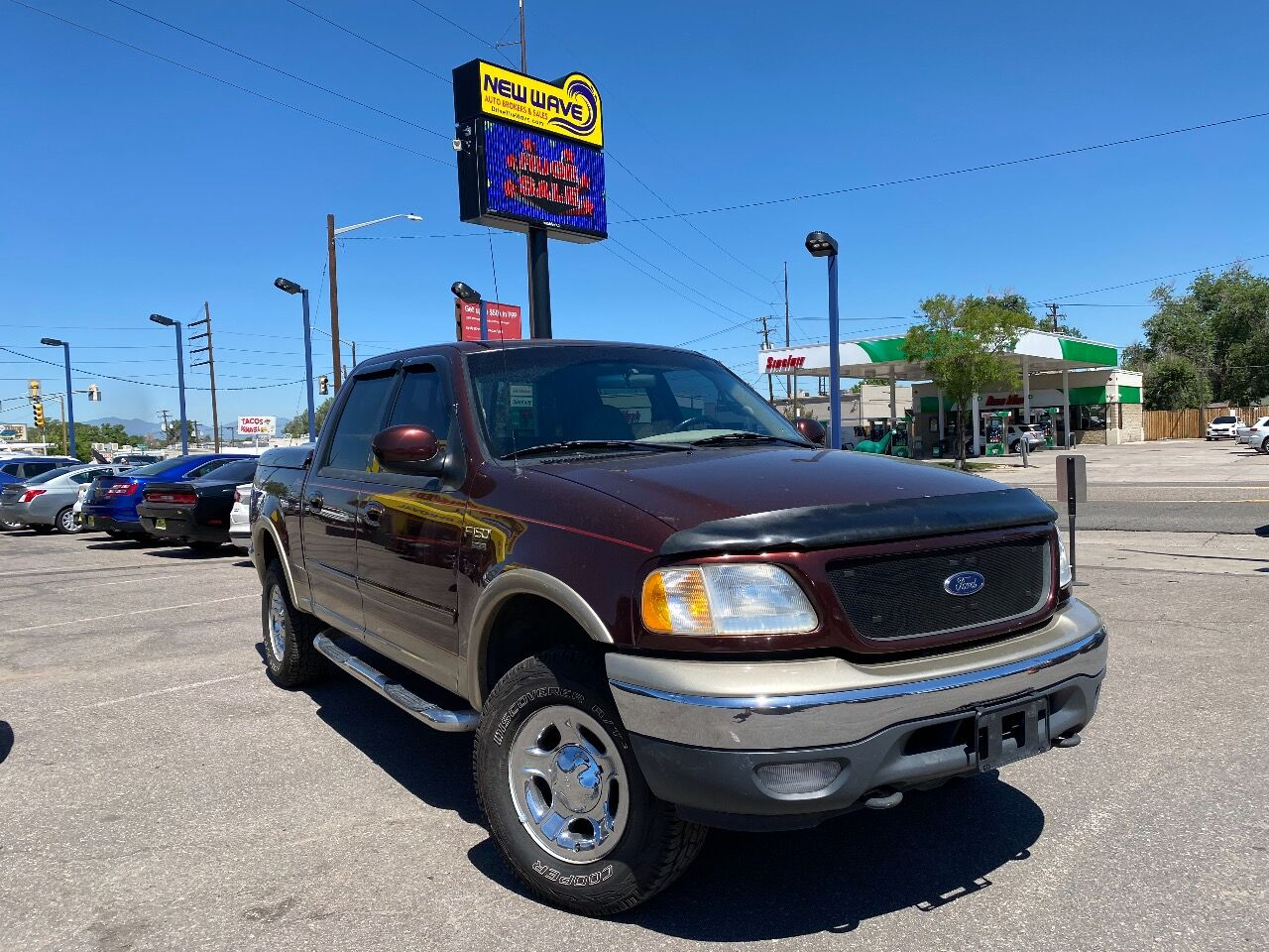 used 2001 Ford F-150 car, priced at $10,988